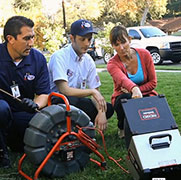 Drain cleaning and video inspection in Torrance, CA
